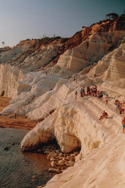 Sicilia Orientale - Scala dei Turchi