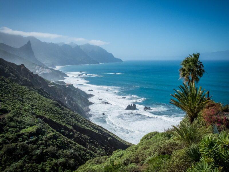 Trekking  a Tenerife - costa di Benijo