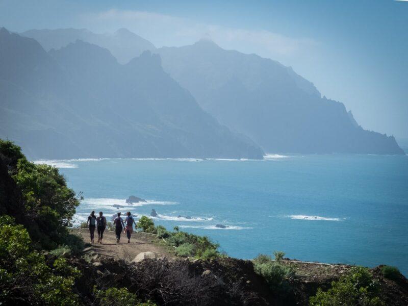 Trekking  a Tenerife - da Benijo a El Draguillo