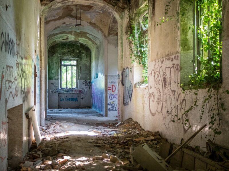 Gita fuori porta da Milano - ex-manicomio di Mombello