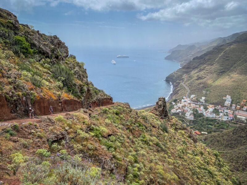 Trekking  a Tenerife - da Igueste al Mirador de Atalaya