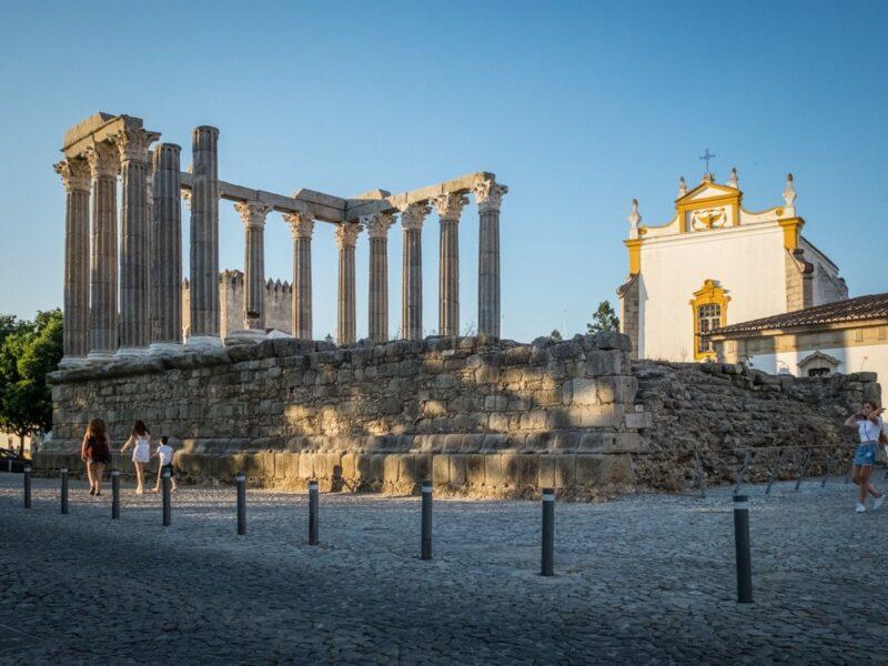 Tempio di Diana, Evora - Alentejo