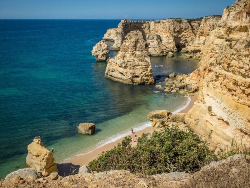 Praia dos tres Irmaos - Algarve