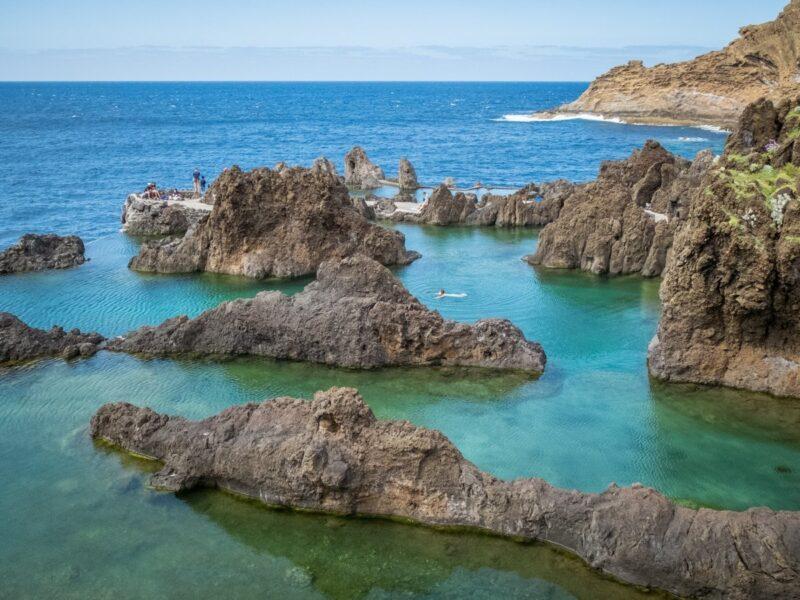 piscine naturali di Porto Moniz