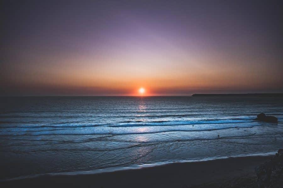 tramonto da faro di Cabo de Sao Vicente - Algarve