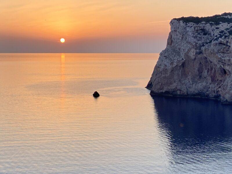 tramonto a Capo Caccia - Alghero
