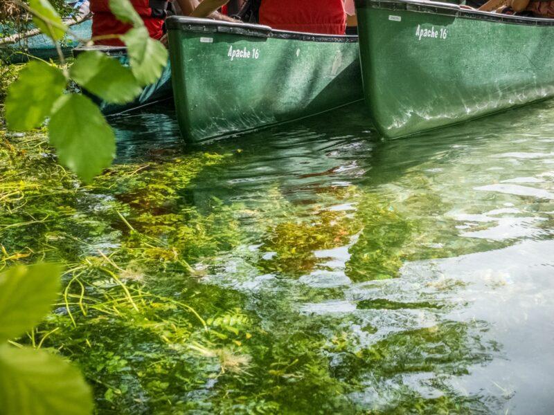 fiume Tirino - canoe