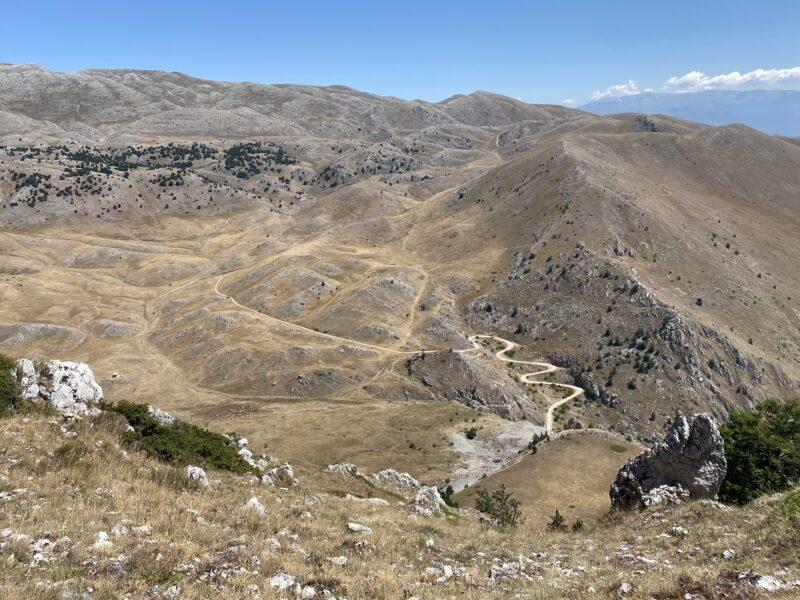 vista dal monte Etra