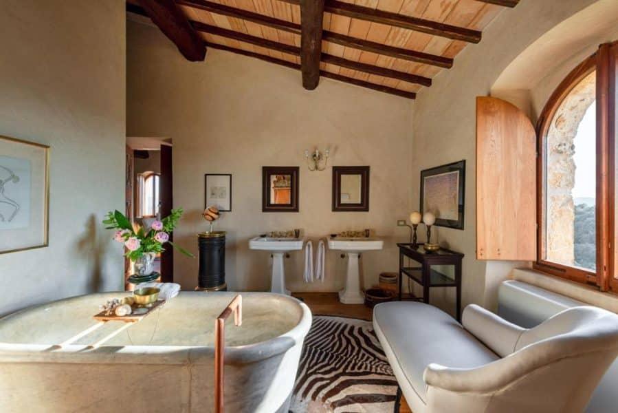 camera con spa privata - Castello del Vicarello