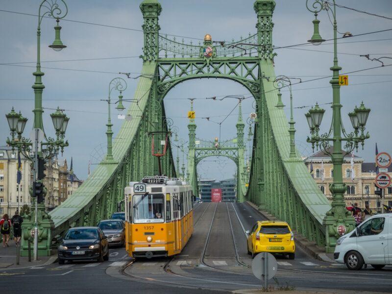Cosa vedere a Budapest - Ponte dalla Libertà