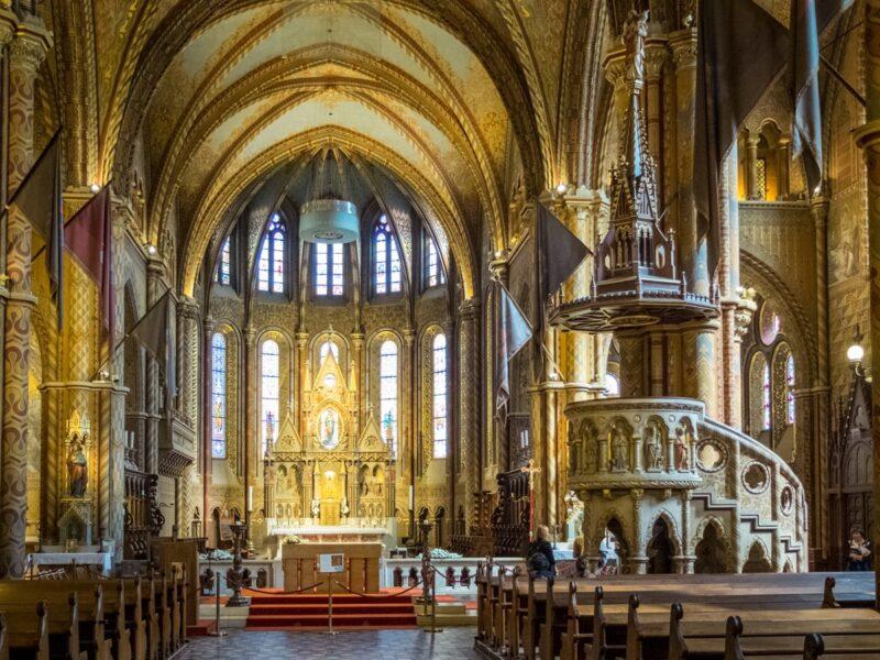 Cosa vedere a Budapest - Chiesa di Mattia (interno)