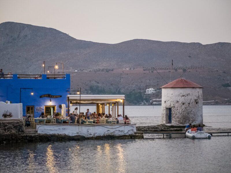 Dove mangiare a Leros - Mylos
